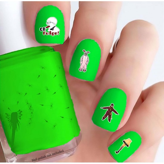 A Christmas Story Nail Decals